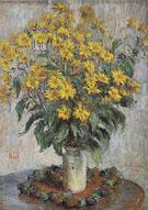 Claude Monet : Jerusalem Artichokes 1880 : $389