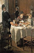 Claude Monet : The Luncheron 1868 : $389