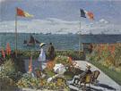 Claude Monet : Terrace at Sainte Adresse 1867 : $395