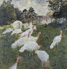 Claude Monet : The Turkeys 1876 : $389
