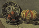 Claude Monet : Still Life with Melon 1872 : $389