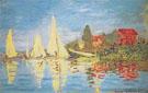 Claude Monet : Regatta at Argenteuil 1872 : $389