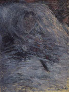 Claude Monet : Camille on Her Deathbed 1879 : $389