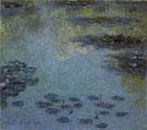 Claude Monet : Water Lilies 1906 B : $389