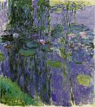 Claude Monet : Water Lilies 1915 C : $395