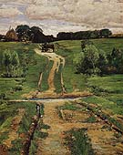 Childe Hassam : A Back Road 1884 : $389