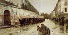 Childe Hassam : Une Averse rue Bonaparte 1887 : $389
