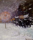 Childe Hassam : Winter Midnight 1894 : $369