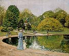 Childe Hassam : Central Park 1892 : $369