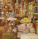 Childe Hassam : The Room of Flowers 1894 : $389