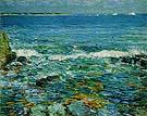 Childe Hassam : Duck Island from Appledore 1911 : $389