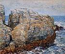 Childe Hassam : Sylphs Rock Appledore 1907 : $389