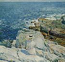 Childe Hassam : The South Ledges Appledore 1913 : $389