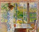 Childe Hassam : Bowl of Goldfish 1912 : $389