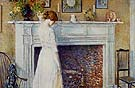Childe Hassam : In the Old House 1914 : $389