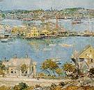 Childe Hassam : Gloucester Harbor 1899 : $389