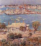 Childe Hassam : Gloucester Harbor 1 1899 : $389