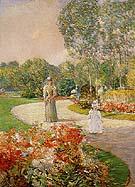 Childe Hassam : Parc Monceau 1897 : $369