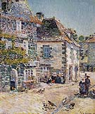 Childe Hassam : Pont Aven Noon Day 1897 : $369