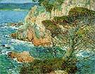 Childe Hassam : Point Lobos Carmel 1914 : $389