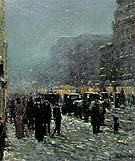 Childe Hassam : Broadway and 42nd Street 1902 : $369