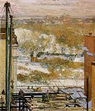 Childe Hassam : The Hovel and the Skyscraper 1904 : $389