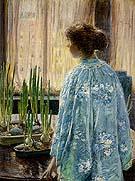Childe Hassam : The Table Garden 1910 : $389