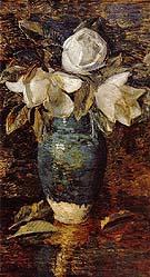 Childe Hassam : Giant Magnolias  : $389