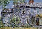 Childe Hassam : East Hampton LI Old Mumford House 1919 : $369
