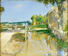 Childe Hassam : A Country Road : $389