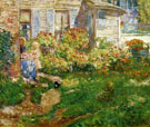 Childe Hassam : A Fishermans Cottage : $389