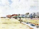 Childe Hassam : Canal Scene 1883 : $389