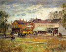 Childe Hassam : End of the Trolley Line Oak Park Illinois 1893 : $389