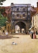 Childe Hassam : Gateway at Canterbury : $389