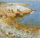 Childe Hassam : Isles of Shoals Broad Cove 1911 : $389