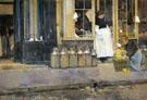 Childe Hassam : La Bouquetiere and La Latiere 1888 : $389