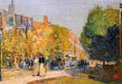 Childe Hassam : Marlborough Street Boston  : $389