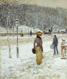 Childe Hassam : New York Street : $389