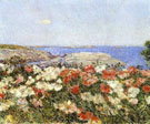Childe Hassam : Poppies Isles of Shoals  : $389
