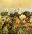 Childe Hassam : Provincetown 1900 : $389