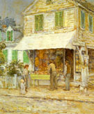 Childe Hassam : Provincetown Grocery Store 1900 : $389