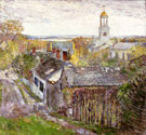 Childe Hassam : Quincy Massachusetts 1892 : $389
