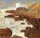 Childe Hassam : Seaweed and Surf Appledore  : $389