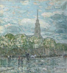 Childe Hassam : St Marks in The Bowery : $389