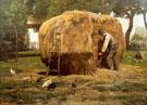 Childe Hassam : The Barnyard 1885 : $389