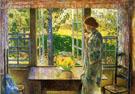 Childe Hassam : The Goldfish Window : $389