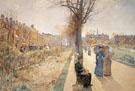 Childe Hassam : The Public Garden Boston Common c1885 : $389