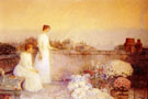 Childe Hassam : Twilight Twilight in Paris c1888 : $389