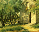 Childe Hassam : White Barn 1882 : $389