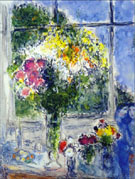 Marc Chagall : Window in the Artist's Studio 1976 : $325